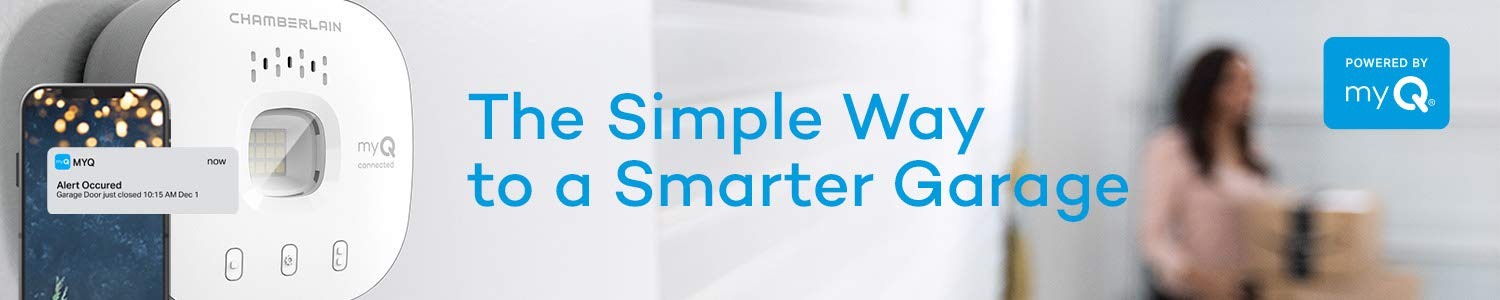 The simple way to a smarter garage. myQ.