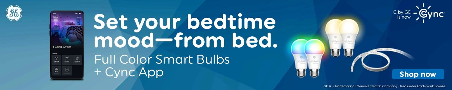 Set your bedtime mood - from bed