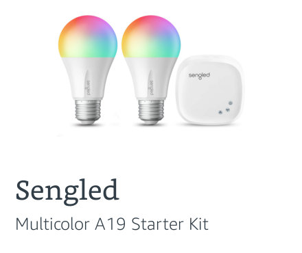 Sengled Multicolor A19 Starter Kit