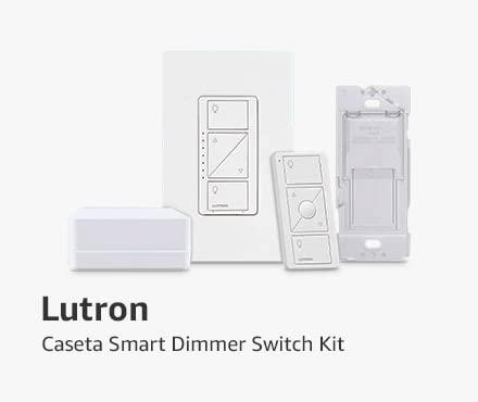 Lutron Caseta Smart Dimmer Switch Kit