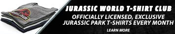 Exclusive Jurassic World T-Shirts - Head to Isla Nublar in Style. Adventure is Calling with the Monthly Jurassic World T-Shirt Subscription.