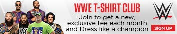 WWE T-Shirt Club - Dress Like a Champion. Join now to get new, exclusive WWE t-shirts you won't find anyplace else.