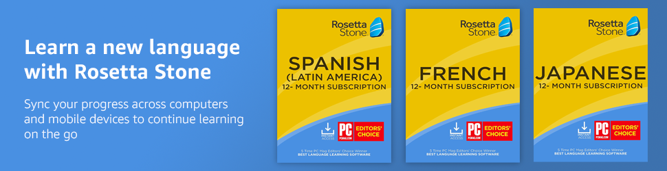 Rosetta Stone Online Subscriptions