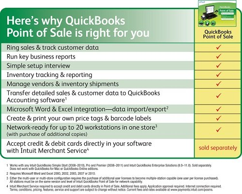 QuickBooks Point of Sale - POS System Software for Small Businesses
