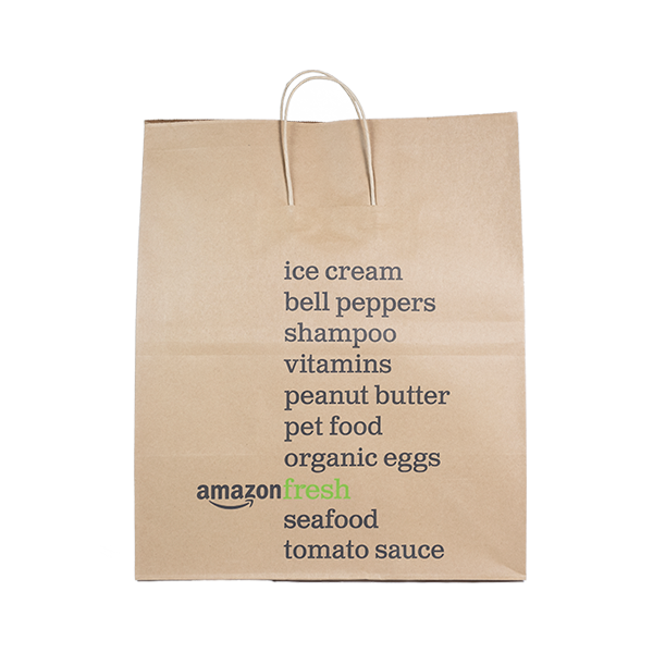 Amazon Fresh Paper Bag