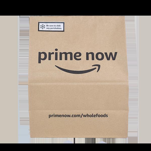 Prime Now paper bag