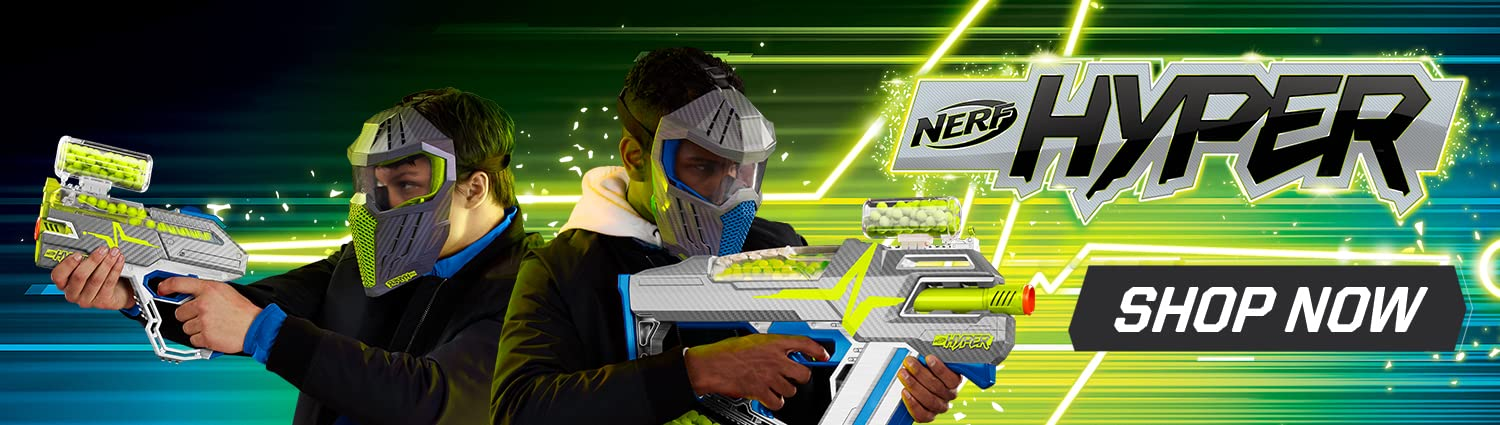 Outlast and Outblast with Nerf Hyper