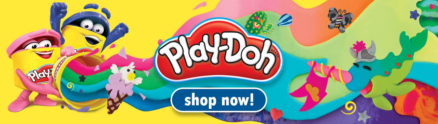 Shape your imagination with Play-Doh