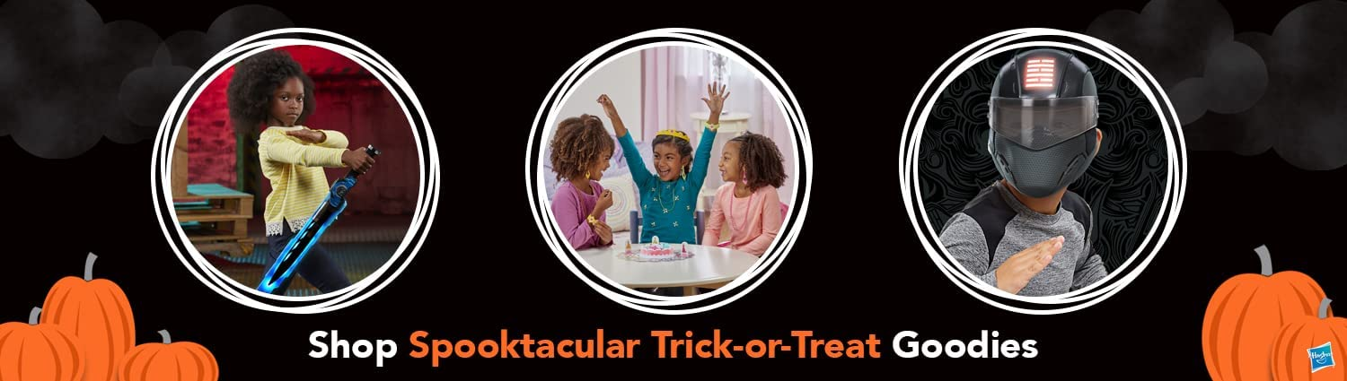 Trick-or-Treat with your favorite Hasbro Brands