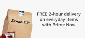 Ultra-Fast FREE Delivery with Prime Now