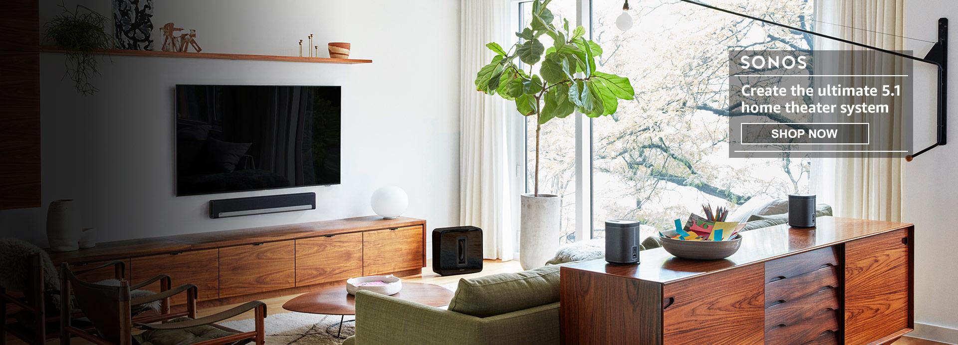 Amazon Com Home Audio Electronics Speakers Home