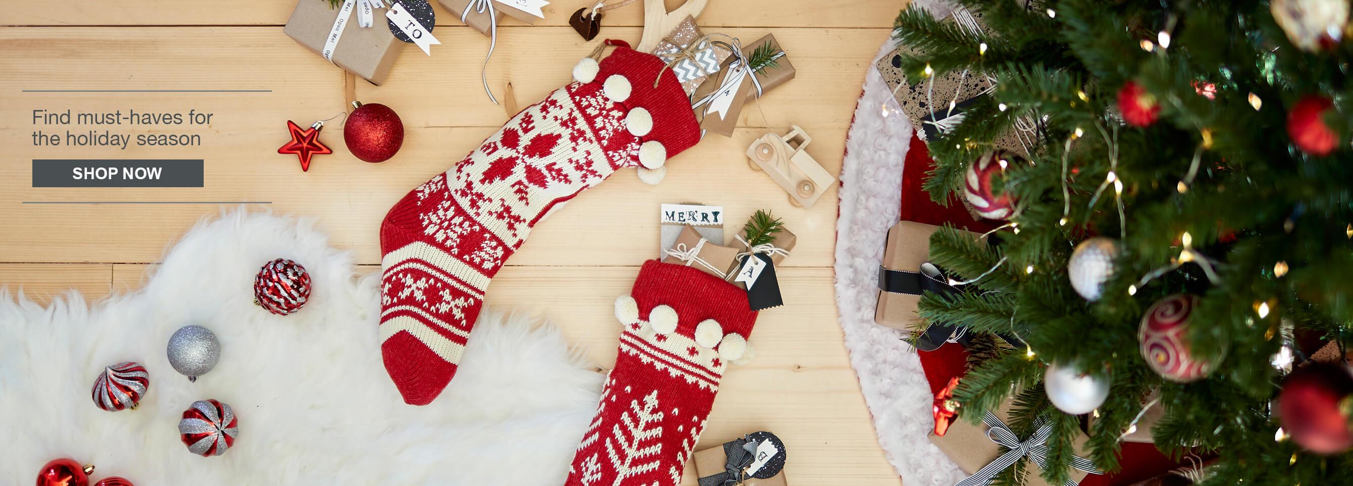 Shop seasonal d cor for Home bargains xmas decorations