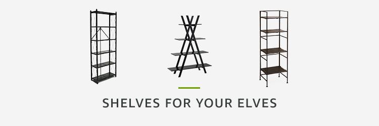 Shelves for your Elves