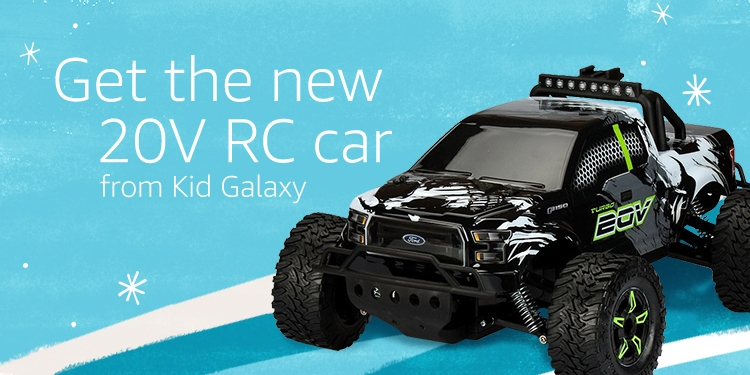 Get the new 20V RC car from Kid Galazy