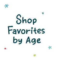 Shop favorites by age