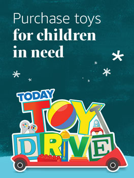 Purchase toys for children in need