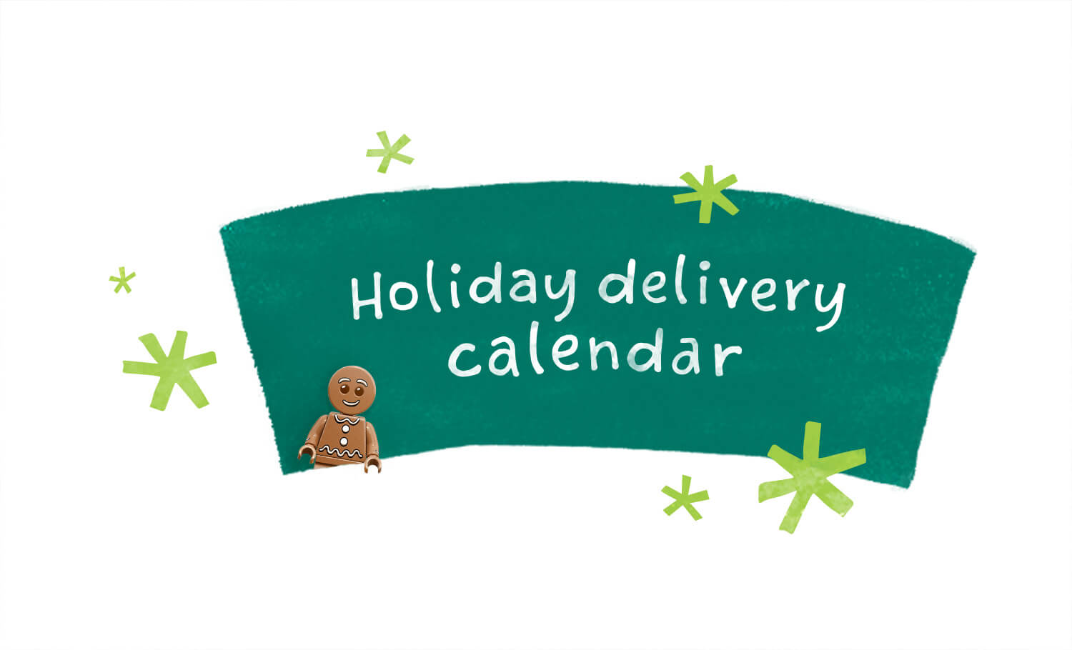 Holiday Delivery Calendar