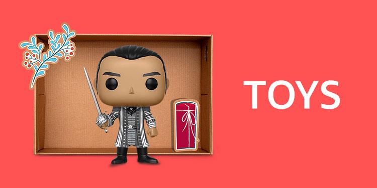Amazon Warehouse Toys