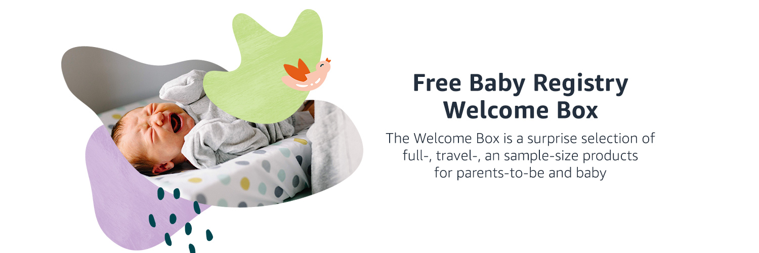 Free baby registry welcome box