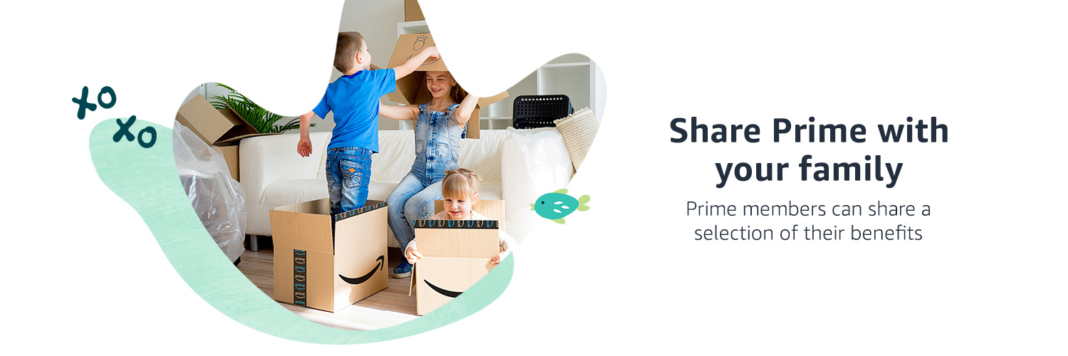 Share Prime with your family