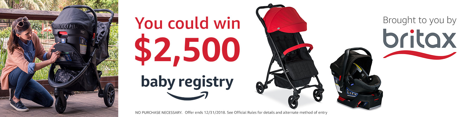 Britax and Baby Registry Sweepstakes