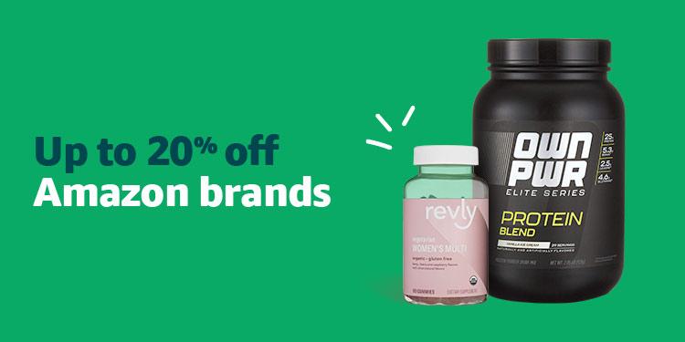 Save 20% off Amazon Exclusive