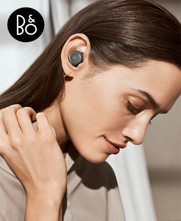 B&O Play E8 true wireless headphones
