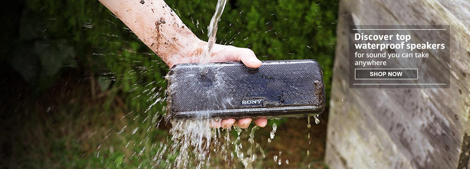 Waterproof speakers