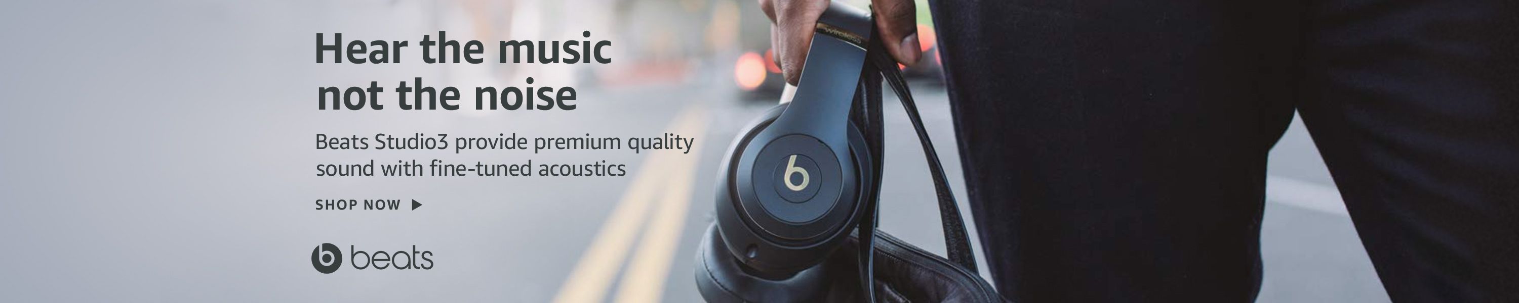 Beats Studio3 Wireless noise canceling headphones