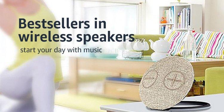 Best-sellers in wireless speakers