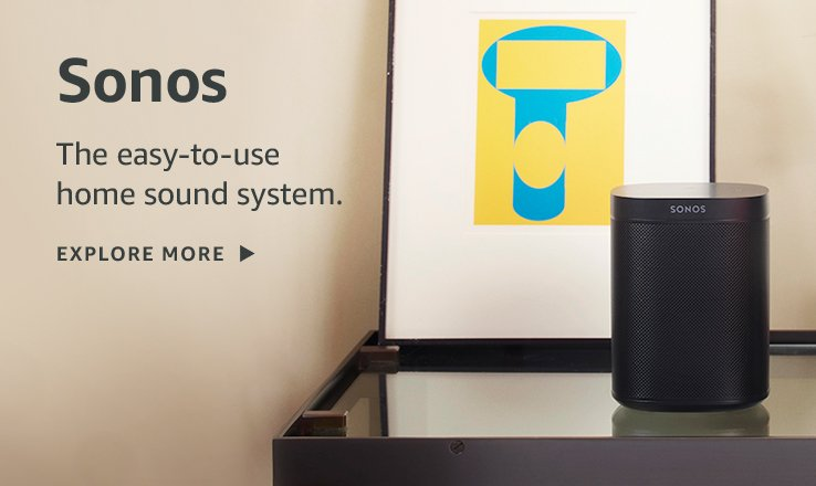 Sonos the easy-to-use home sound system