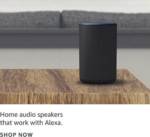 Home audio speakers that work with Alexa