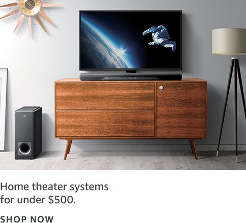 Home theater systems under $500