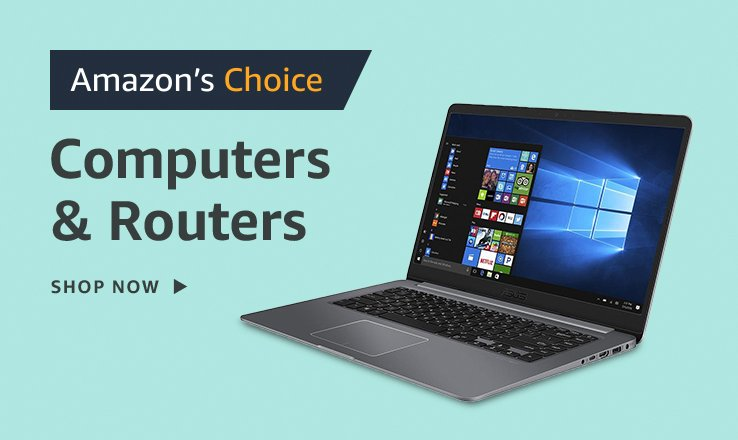Amazon's Choice for Computers and Routers