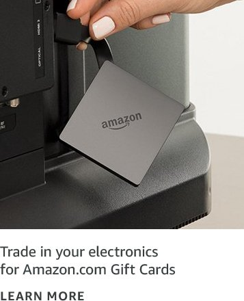 Trade in your electronics for Amazon.com Gift Cards
