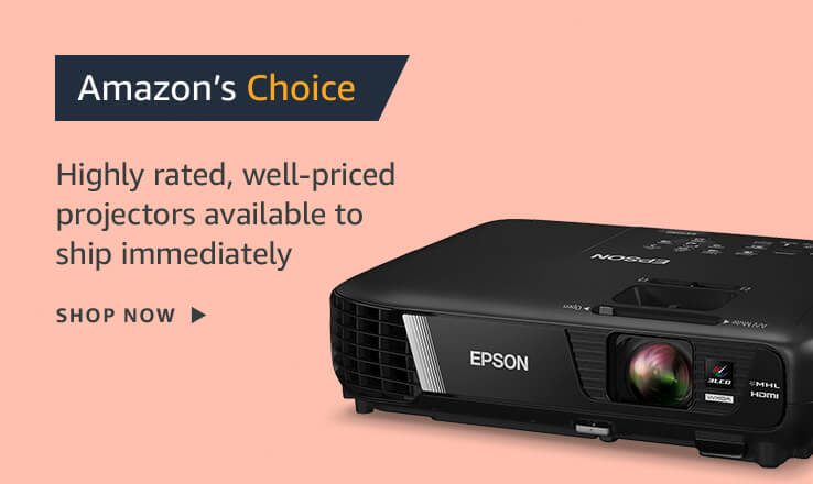 Amazon's Choice Projectors