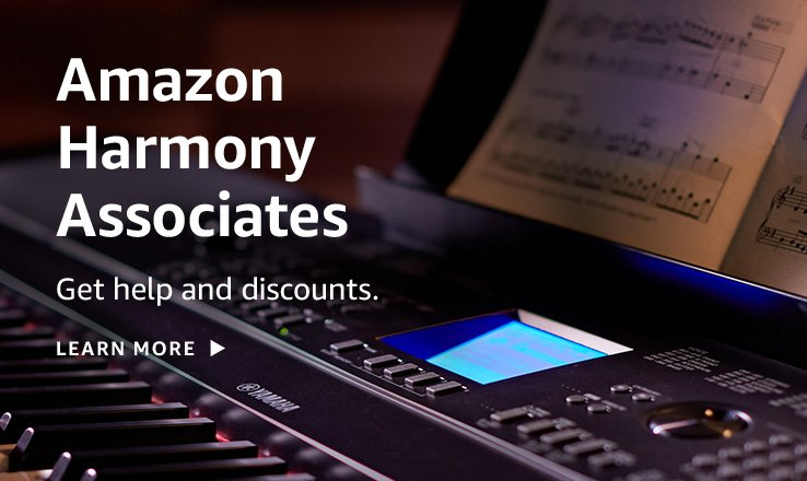 Get help and discounts with Amazon Harmony Associates