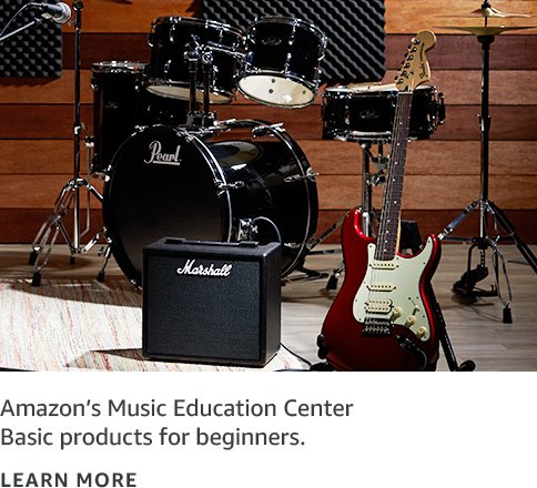 Basics for beginners with Amazon's Musician Education Center