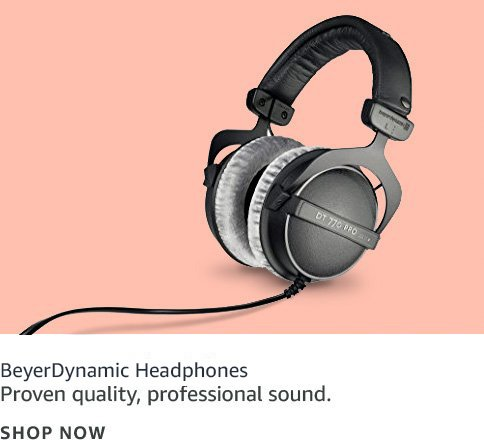 Proven quality, professional sound; Beyer Dynamic logo