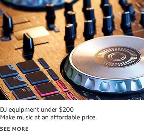 DJ Equipment under $200