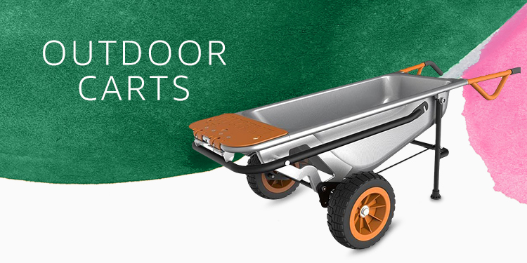 Amazon Warehouse gardening outdoor carts