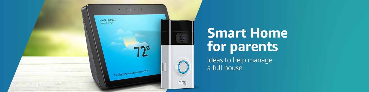 Smart Home For Parents At Amazoncom