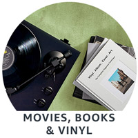 Movies, Books & Vinyl