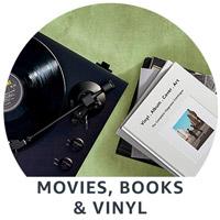 Movies, Books & Vinyl