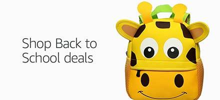 Shop Back to School deals