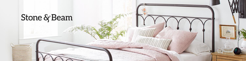 stone beam new in bedroom. Black Bedroom Furniture Sets. Home Design Ideas