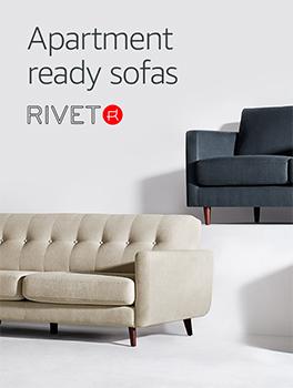 Apartment ready sofas