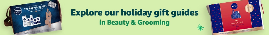 Explore our holiday gift guides in Beauty & Grooming