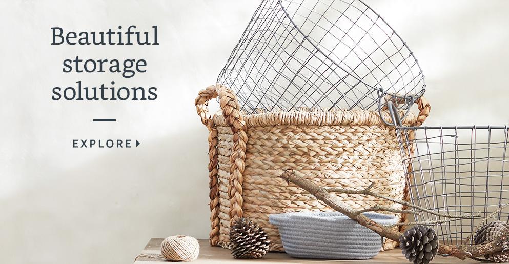 Beautiful storage solutions