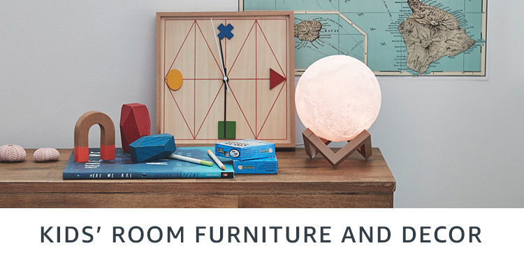 Kids' room furniture and decor